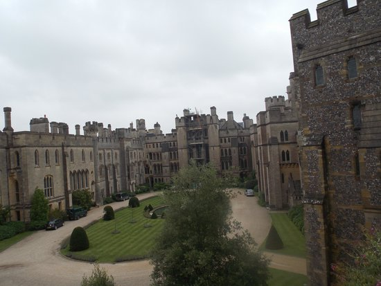 Arundel Castle and Gardens: 27.8.2014 this is my Non edited photo.