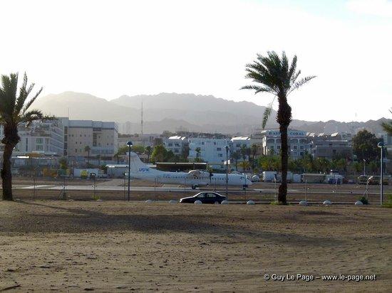 Eilat Marina: L'aéroport en pleine ville
