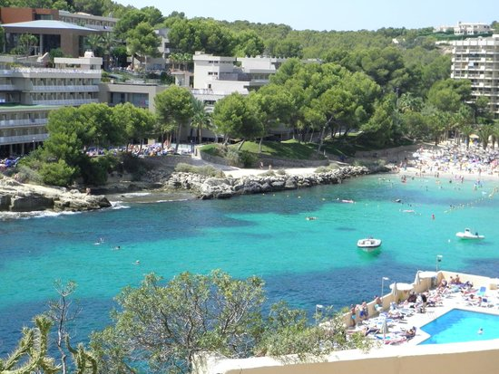 Cala Vinyes, Spain: complesso