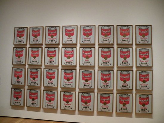 The Museum of Modern Art (MoMA): Campbell's Soup Cans
