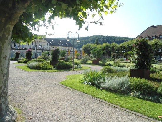 Kurpark-Hotel Bad Dürkheim: Der herrliche Kurpark
