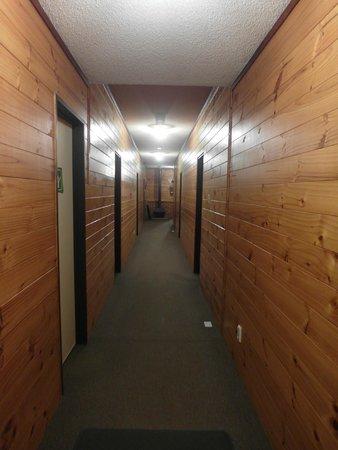 YHA Waitomo Juno Hall Backpackers: 走廊