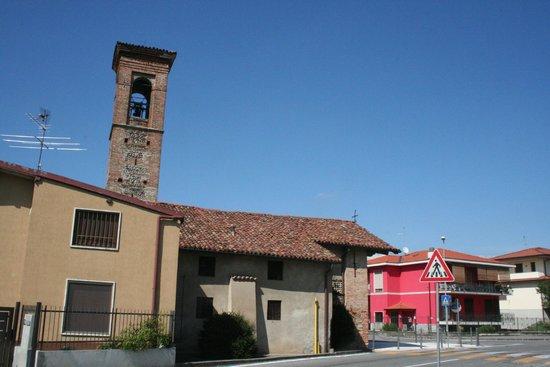 Urgnano, Italija: esterno dal parcheggio