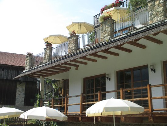Hotel Vajolet: TERRAZZA BAR E ZONA RELAX