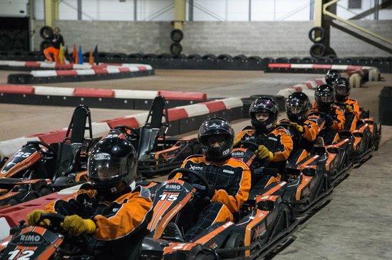 Xtreme Karting and Combat Edinburgh: The final race.