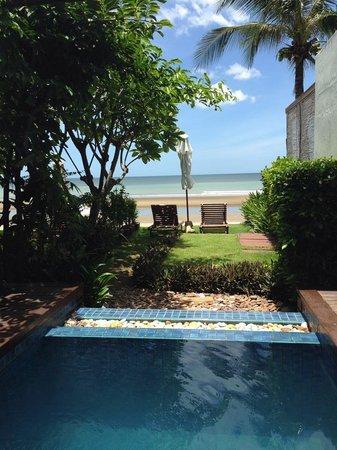 Aleenta Resort Pranburi: Perfect view to wake up to!