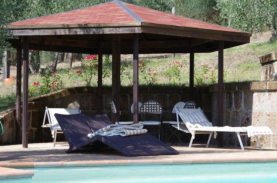 Agriturismo Colbadia: Gazebo piscina