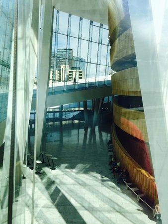 The Norwegian National Opera & Ballet : The interior