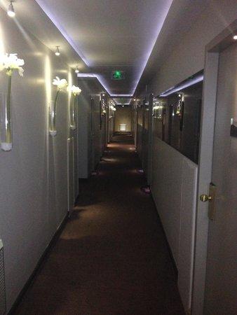 Plaza Madeleine & Spa : couloir
