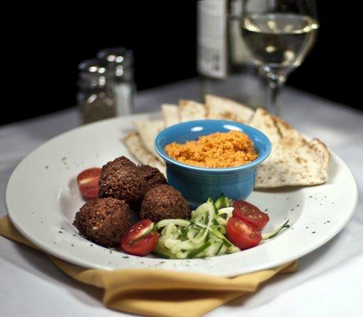 The Burren: Mediterranean Snack Plate