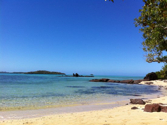 Navutu Stars Fiji Hotel & Resort: spiaggia