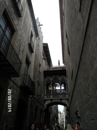 Barrio Gótico: La ciutat Vieilla
