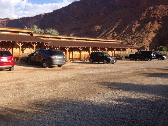 Red Cliffs Lodge : esterno dell'hotel