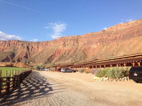 Red Cliffs Lodge : esterno dell'hotel