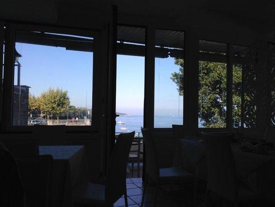 La Ripetta: Panorama sala colazione
