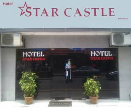 Hotel Star Castle : Hotel Entrance - Selamat Datang(WELCOME)