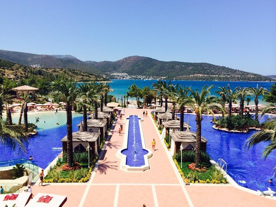 Vogue Bodrum: Lobby terrace