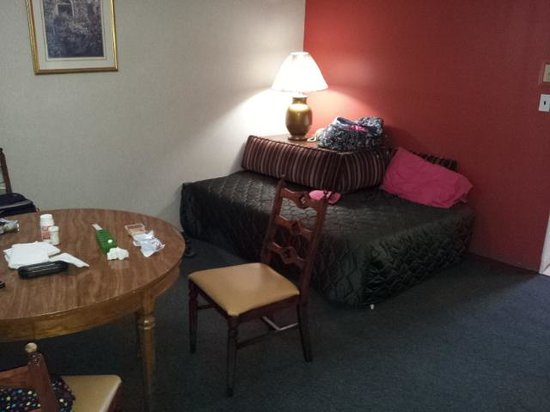 Carideon Motel: living room