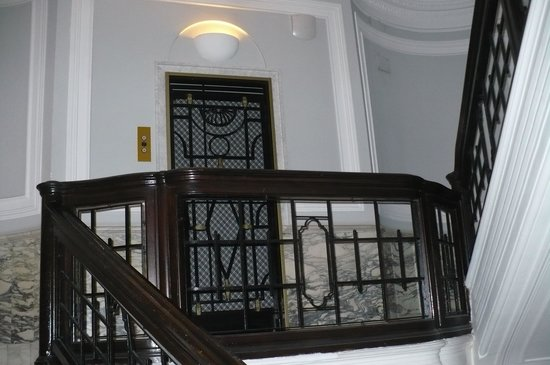 Best Western Hotel Astrid: klatka schodowa