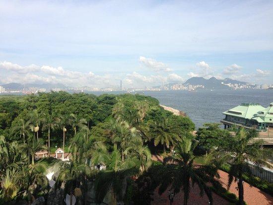 Hong Kong Disneyland Hotel: view from 7th floor