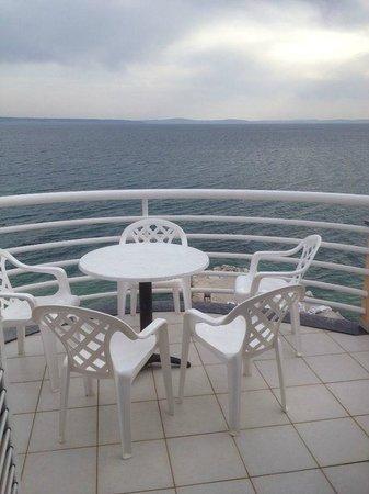 Villa Jerkan: наш балкон :)