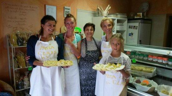 Team Ukraine in Pasta Fresca