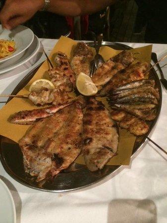 Calamara : Grigliata