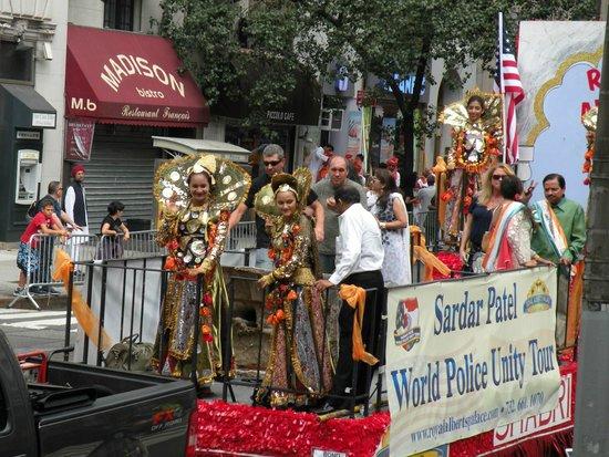 Madison Avenue: Parade des Indiens des Etats-Unis