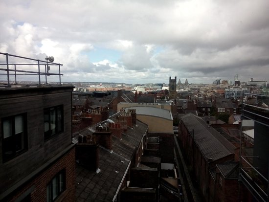 Hope Street Hotel: Lovely view over the city.