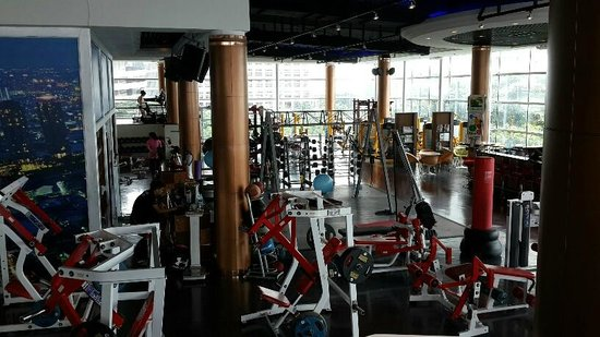 Ascott Sathorn Bangkok : Cascade gym