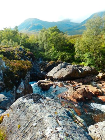 Clachaig Inn: River Coupall - Glen Etive