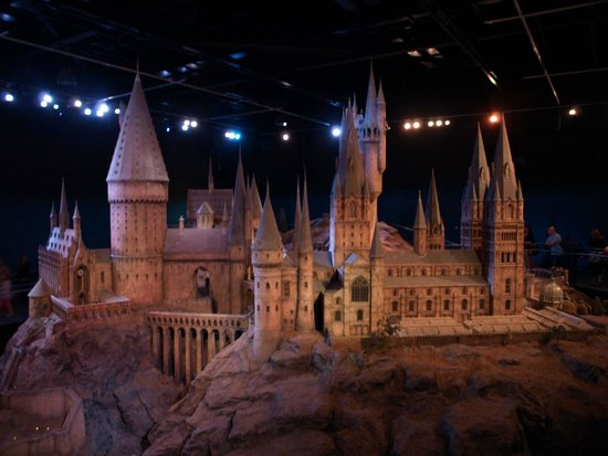 Warner Bros. Studio Tour London - The Making of Harry Potter: La maquette géante de Poudlard