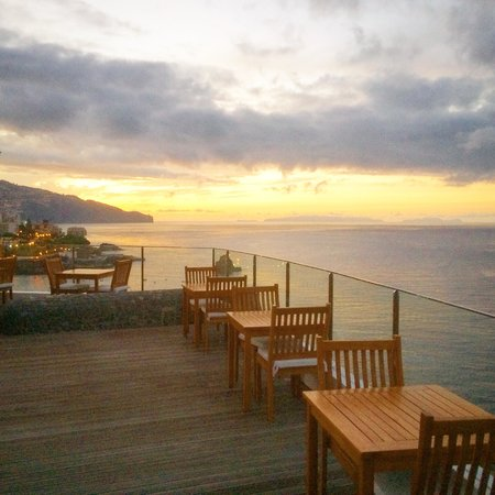 Madeira Regency Cliff: View from breakfast/dinner