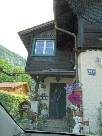 Landhaus Osborne: the charming front door