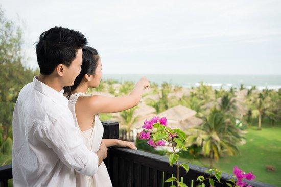 Muine Bay Resort: View from Deluxe room's balcony