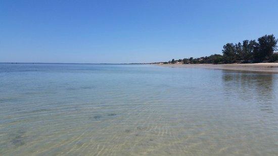 Hotel La Mira de Madio Rano: momento di bassa marea