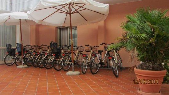 Hotel Conca Verde : Bici dell'Hotel.