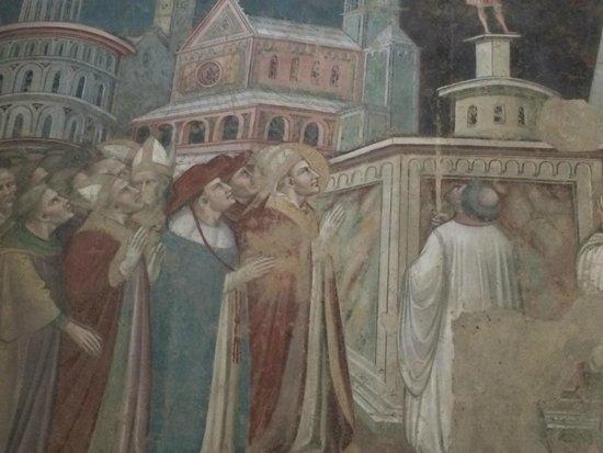 Church of San Francesco Arezzo: Fresko von Piero della Francesco