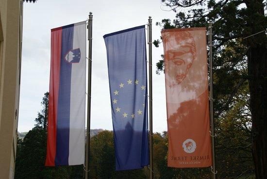 Rimske Terme Hotel: флаг отеля и страны