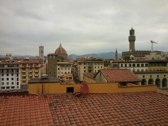 Pitti Palace al Ponte Vecchio : Desde la cafetería