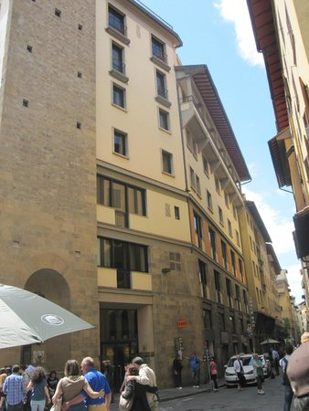 Pitti Palace al Ponte Vecchio : Fachada principal