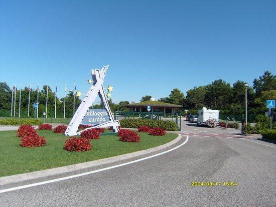 V.T.E. Villaggio Turistico Europa : Eingang