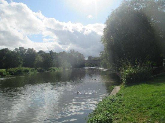 St Nicholas Park: boating lake