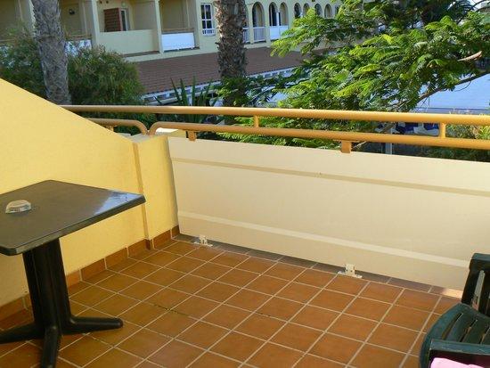 Playa Park Club: balcon devant