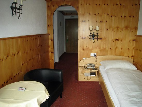 Hotel Baeren: Single room.
