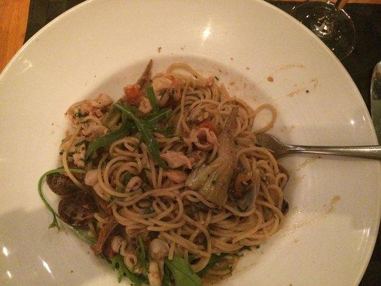 Pescatori Fish & Seafood Restaurant Mayfair : Паста с морепродуктами