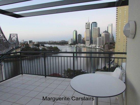 Adina Apartment Hotel Brisbane: View from bedroom  Adina Apartments