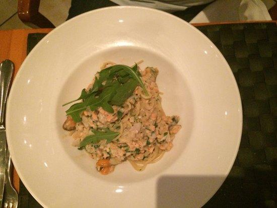 Pescatori Fish & Seafood Restaurant Mayfair : Карбонаре с морепродуктами