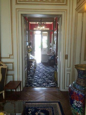 Hotel l'Ecrin : Hotel Eingang