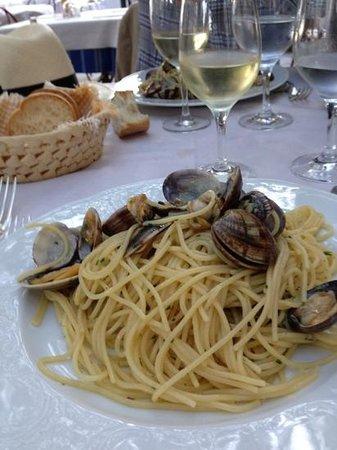 Hotel Stella d'Italia: Spaghetti Vongole